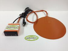 "Digital Controlled Heating Pad: 4.75"" Diameter"