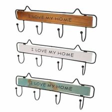 Wall Key Chain Holder Hanging Rack For Small Tools Adhesive Stick Mounted Home