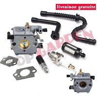 Carburateur & Filtre pour Walbro WT-194 pr Stihl 024 026 024AV 024S MS240 MS260