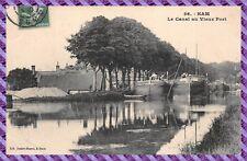 Tarjeta postal - HAM - el canal a antiguo envío