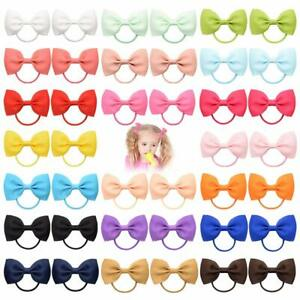 Girls hair bow bobbles 2.75 inches pairs of bobbles for babies toddlers lot
