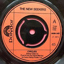 The New Seekers - Circles / Mystic Queen - Polydor 2058-242 Ex Condition