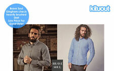 Brave Soul Men's Cotton collar Casual Shirts & Tops