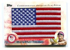 Misty May Treanor 2012 Topps Olympic American Flag Patch Beach Volleyball 48776
