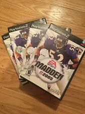 EA SPORTS NFL MADDEN 2005 - PS2 - COMPLETE W/MANUAL - FREE S/H (L)