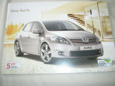 Toyota Auris range brochure Feb 2011