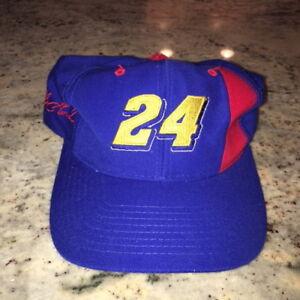 VTG Jeff Gordon NASCAR Racing Snapback Hat 1990s One Size Fits All
