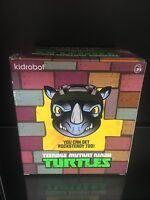 Teenage Mutant Ninja Turtles Rocksteady Kidrobot Vinyl Action Figure