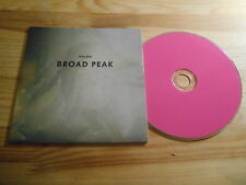 CD Indie DAMA CINESE-Broad Peak (8) canzone PROMO Sunday Service CB