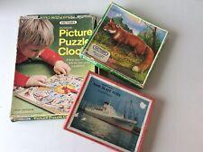Vintage Wooden Jigsaw Puzzle Bundle X 3 - Victory