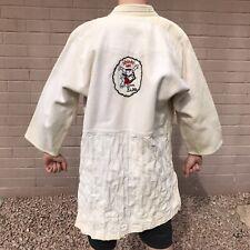 Vintage Judo Robe Gi Tokyo Judogi Mfg Co Shindo Kan School Uniform Jacket Only