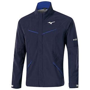 Mizuno NexLite Waterproof Rain Jacket Removable Sleeves Lightweight Golf Coat