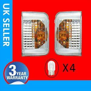 Fits Fiat Ducato door wing mirror side indicator light lens left&right 71748253