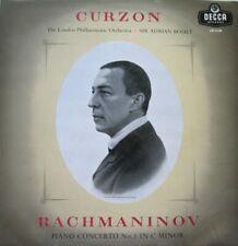 CLIFFORD CURZON - LONDON SYMPHONY ORCHESTRA - SIR ADRIAN BOULT  - LP