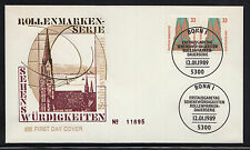 A 001 ) Germany 1989 FDC - German Attractions  St.-Petri-Dom Schleswig TOGETHER
