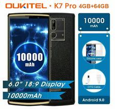 "10000mAh Oukitel K7 Pro 6.0"" Android 9.0 4+64GB Octa Core 4G Mobile Phone 2*SIM"
