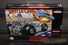 Battle Cars (Super Nintendo, SNES 1993) H-SEAM SEALED! - EXCELLENT! - RARE!