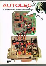 Autolec: The Design and Service of Automotive Electronic Equipment