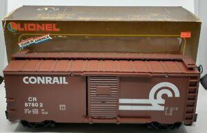 Lionel 8-87802 Conrail Boxcar w/E.T.D. LN/Box