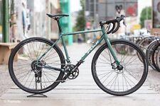 Fuji Jari 2.3 Gravel Bike Stahl sage green L 56cm NEU