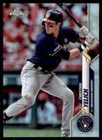 2020 Topps Chrome Base Variation #138 Christian Yelich - Milwaukee Brewers
