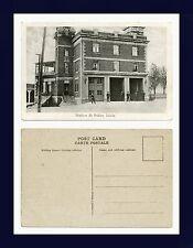CANADA QUEBEC LÉVIS STATION DE POLICE DIVIDED BACK POSTCARD PUBLISHED CIRCA 1925