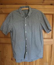 Mens Sonneti Cotton Shirt Short Sleeved Size Large