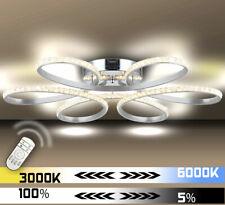 Lewima HA947 144W Plafoneria LED in Cristallo 70cm - Argento
