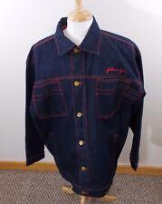 Platinum Fubu Fat Albert Jacket Denim Jean  Size XL