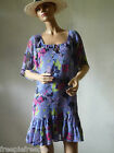 robe tunique bleu H&M DIVIDED taille 38/40 ref 0416498