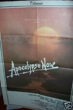 APOCALYPSE NOW 1979 Italian RARER MOVIE POSTER
