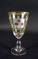 antikes Weinglas / Ansichtenglas 1870/80 - München (1)