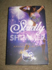 Strictly Come Dancing novel Strictly Shimmer by Amanda Roberts PB ballroom