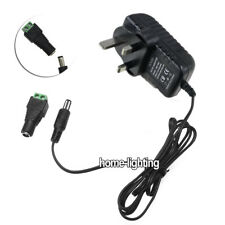 DC 12V Power Supply AC Adapter Transformer 2A For 3528 RGB LED Strip Lights UK