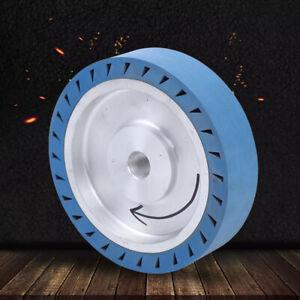 """Belt Grinder RUBBER Wheel for Belt Grinder , 8"""" Flat Surface Contact Wheel 25mm"""