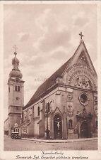 HUNGARY - Szombathely - Ferenciek Szt. Erzsebet plebania temploma
