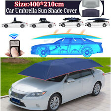 Fully Automatic Portable Anti-UV Protection Car Umbrella Roof Tent Cover Remote