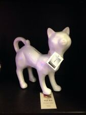 Interior Illusions Cat with Crystal Necklace Piggy Bank