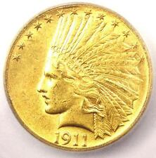 1911-D Indian Gold Eagle $10 Coin - Certified Icg Ms60 (Unc) - $9,600 Value!