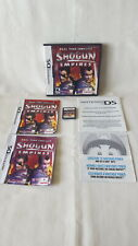 Shogun Empires - Real Time Conflict ( Nintendo DS, 2005 ) COMPLETE & TESTED