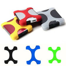 Solid External Hard Drive Disk HDD Enclosure Silicone Case Cover Protector Cases