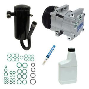 New A/C Compressor and Component Kit 1050225 - F2UZ19V703FA F-150 F-250 F-350