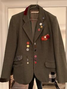 cabbages and roses stunning wool jacket size 12