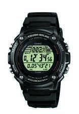 Casio Uhr Digitaluhr W-S200H-1BVEF Tough Solar Neu Resinarmband