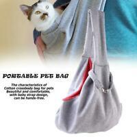 Hands-Free Dog Cat Sling Bag Portable Outdoor Pet Carrier Shoulder Pouch  P4PM