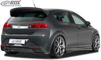 RDX Heckansatz SEAT Leon 1P Facelift 2009+ Heck Ansatz Schürze Diffusor Hinten