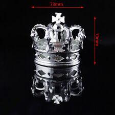 Hot! Chrome Crown Shape Perfume Diffuser 50ml Glass Air Freshener Car Dashboard