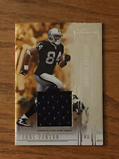 2005 DonRuss Gridiron JERRY PORTER Game Used Jersey Relic Football Card #080/150