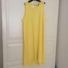 Benetton Damen Sommerkleid Gr.L Gelb Neu!