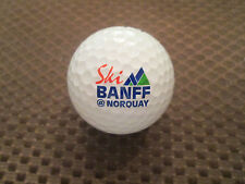LOGO GOLF BALL-SKI BANFF MT. NORQUAY.....CANADA...